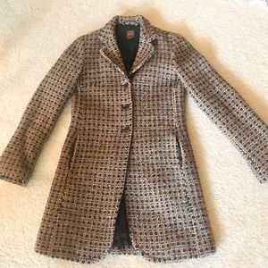 Kuhlman Italian Wool Driving Coat XS